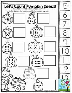 cut and paste subtraction worksheets for kindergarten 10497 pin on october