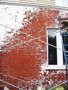 décaper peinture mur d 233 capage de murs de briques