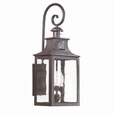 troy newton extra large three light outdoor wall bcd9005obz bellacor