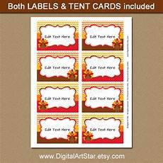 thanksgiving food label cards template digital printable decor thanksgiving