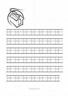 free printable tracing letter h worksheets for preschool occupational therapy activities for