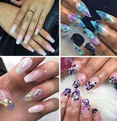 acrylic nail ideas 45 best acrylic nail designs for every