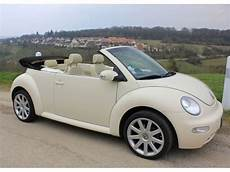 New Beetle Cabriolet Capote Beige Mitula Voiture