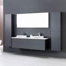 Badmöbel Set Aufsatzwaschbecken - eago badm 246 bel toscana tc 1600 dunkelgrau 160x47 ap wei 223