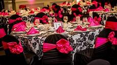 pink black and white wedding theme getting hitched goals black white wedding