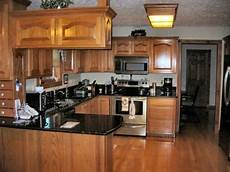 dark oak kitchen cabinets file name kitchen colors with oak cabinets and black countertops