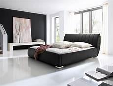 schlafzimmer betten polsterbett luanos 180x200cm schwarz lattenrost klappbar