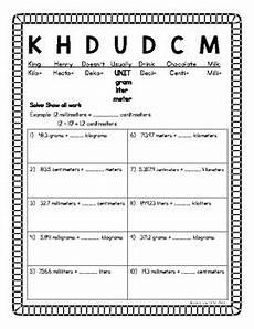 metric measurement conversion worksheets grade 6 1915 metric conversion worksheets by s learning shop tpt