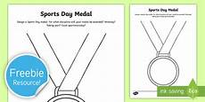 sports day worksheets ks1 15773 free design a sports day medal worksheet worksheet