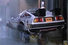 the back to the future delorean now lives at the petersen