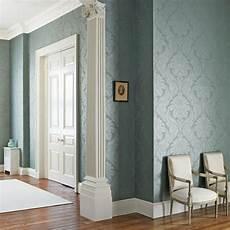 Edle Tapeten Wohnzimmer - edle tapeten mit schimmerndem metallic glanz ideen