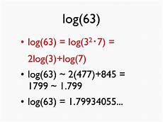 calculating logarithms in your