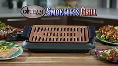 gotham smokeless grill barbecue electrique