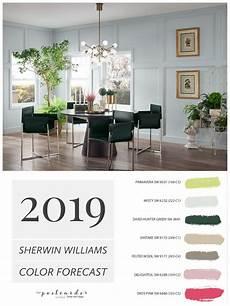 2019 paint color forecast from sherwin williams trending