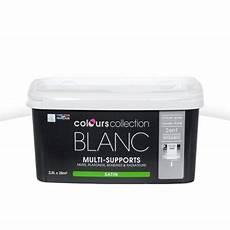 peinture satinée blanc peinture multi supports colours collection blanc satin 2