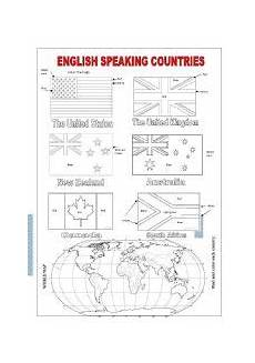 speaking countries free worksheets 18626 worksheet speaking countries angielski activities day