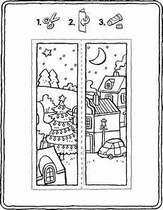 lesezeichen weihnachten kiddimalseite