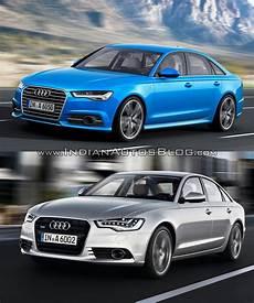 Vs New 2015 Audi A6 Facelift Vs Pre Facelift Model