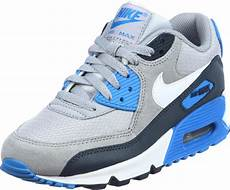 nike air max 90 youth gs schoenen grijs blauw