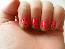 watermelon nails the style reactor