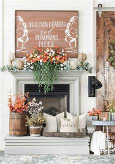 Decorating Ideas Images by 25 Inspiring Fall Mantel Decorating Ideas A Blissful Nest