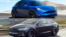 tesla model y analyzing the differences between the 2020 tesla model y