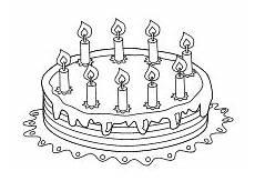 Ausmalbilder Geburtstag Pdf Ausmalbilder Zum Geburtstag Geburtstagstorte Kerzen