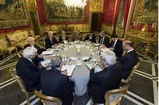 segretario generale presidenza consiglio dei ministri riunione consiglio supremo di difesa
