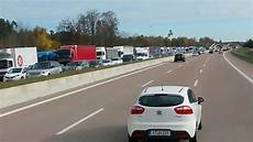 Stau Richtung München - 20km stau autobahn a8 m 252 nchen richtung stuttgart stau