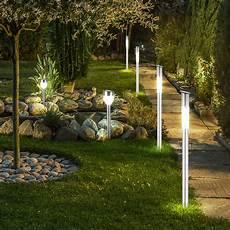 Led Beleuchtung Garten - 6er set solar steck leuchten led garten weg beleuchtung