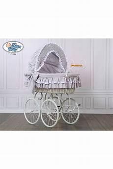 vimini neonato vimini neonato vintage retro grigio bianco