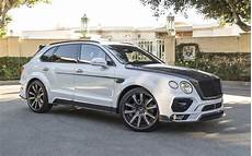 bentley bentayga mansory mansory does its thing on the bentley bentayga