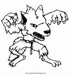 Gratis Malvorlagen Werwolf Werwolf 6 Gratis Malvorlage In Fantasie Ausmalen