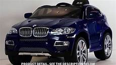 children ride on electric car baby blue bmw x6 bmw x6 panda youtube