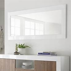 miroir mural blanc grand miroir mural blanc laqu 233 m 012