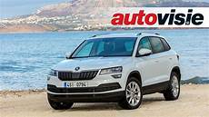 Skoda Karoq 2017 - review skoda karoq 2017 door autovisie tv