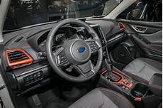 the subaru 2019 forester specs interior 2019 subaru forester gets freshened with new flavors