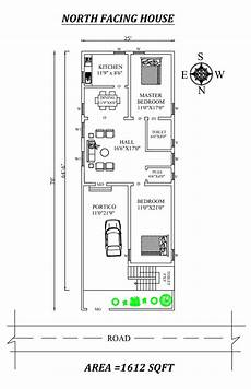 north facing house plan as per vastu 25 x64 amazing north facing 2bhk house plan as per vastu