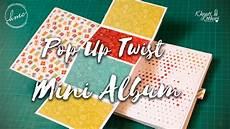 Popup And Twist Card Mini Album Start To Finish Diy