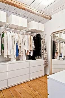 Begehbaren Kleiderschrank Einrichten - begehbarer kleiderschrank inspiration aus schweden