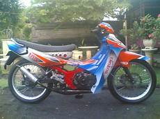 Modifikasi Motor Satria 2 Tak Road Race by B4li Custom Motodify Modifikasi Suzuki Satria R