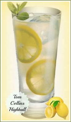 tom collins highball a refreshing summertime drink