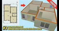 Desain Rumah Ukuran 6x9 2 Kamar Tidur Rumah Central