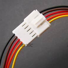 1pcs small 5 terminal lead wire harness and plug 5 wire socket ebay