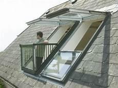 Dachfenster Mit Austritt Velux Eine 220 Bersicht Wand