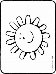 Malvorlagen Jahreszeiten Text Sonne Kiddimalseite