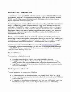 form i 90 green card renewal form