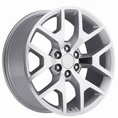 24 quot 2014 gmc wheels silver machine oem replica rims oem018 3