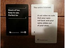 play cards against humanity with friends online