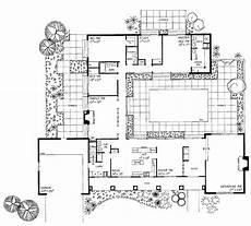 courtyard floor plans interior courtyard house plans